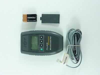Fluke Networks Microtest Microscanner Pro Network Cable Tester