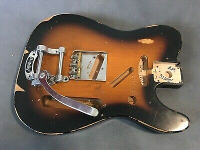Fender Road Worn 50's Telecaster body with Bigsby and Bridge