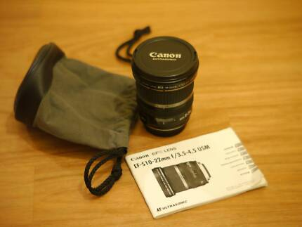 CANON EFS 10-22mm f3.5-4.5 USM LENS IN GREAT CONDITION..REDUCED!! Brighton-le-sands Rockdale Area Preview