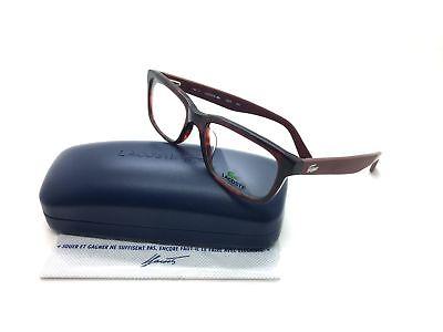 Lacoste Burgundy Eyeglasses L 2672 615 52 mm Rectangle Plastic
