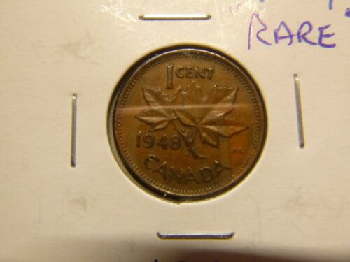 CANADA 1948 ONE CENT