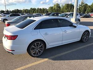 Lease takeover : white 2017 Audi A4 sline tech