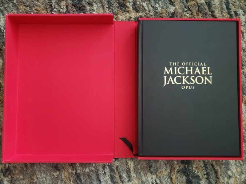 Official Michael Jackson Opus Original Collectors Book