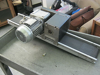 Montech Model Tb-140 Conveyor Assembly. Overall Length 30 X 5 Wide