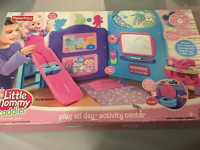 FISHER PRICE LITTLE MOMMY TODDLER PLAY ALL DAY ACTIVITY CENTER 2006 RETIRED