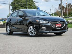 2014 MAZDA3 GS SPORT HATCHBACK JET BLACK AUTOMATIC TRANSMISSION