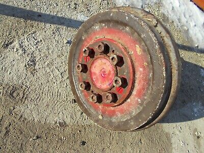 Massey Ferguson To35 Tractor Left Drive Axle Assembly W Hub Studs