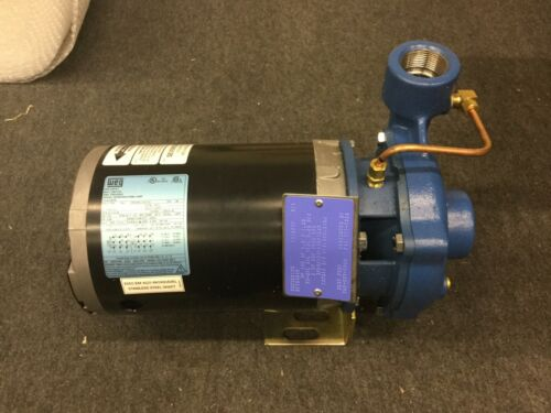 "Scot Pump 125 Cast Iron Centrifugal Pump Weg Motor Unit, 1.5"" x 1.25"", 3 Phase"