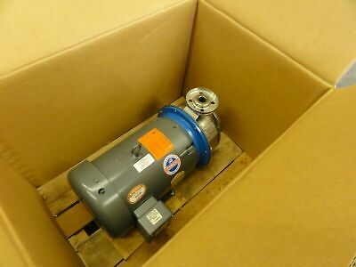Gl Stainless Steel Pump Model Sst 1x2-8 With Baldor 10hp Motor