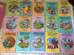 15 Hard covered Mickey Mouse Books - Woodstock area