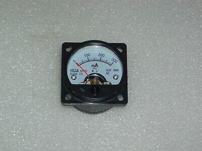 Analog Panel Meter Ac 0-300ma Ammeter So-45 Amper Meter 0-0.3a