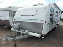 "BIG 21'9"" FAMILY BUNK CARAVAN. 4-5 BERTH WITH ANNEX & 2 BEDROOMS! Heathcote Sutherland Area Preview"
