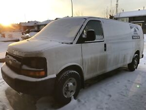 2012 Chevy Express EXT