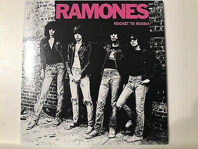 rare pop 80s 70s CD sleeve RAMONES Rocket To Russia CRETIN HOP Rockaway Beach