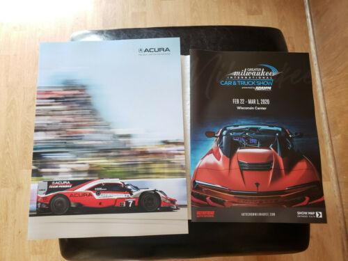 2020 ACURA FULL LINE Sales Brochure Catalog US 20 NSX GT3 EVO RLX TLX MDX RDX