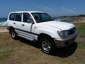 2002 Toyota Landcruiser LPG GAS 100 series AUTO Dual Fuel Fairy Meadow Wollongong Area Preview