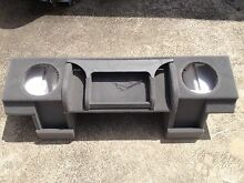 Custom speaker amplifier subwoofer box for a 95 Holden Commodore VS Braybrook Maribyrnong Area Preview