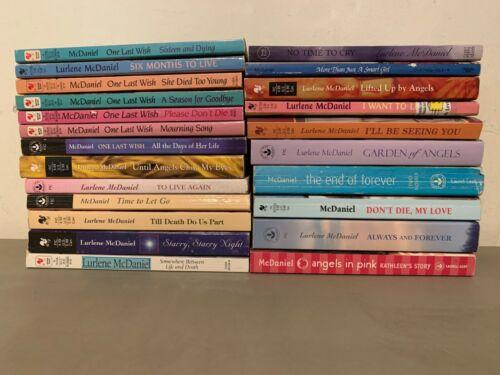 B8 LOT OF 23 Lurlene McDaniel Teen/ YA Novels PB Books Fiction Drama Romance