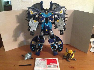Transformers Supreme Class Cybertron Primus w/ Omega Lock & Unicron Head
