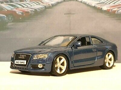PERSONALISED AUDI A5 COUPE BLUE 1.32 DIECAST MODEL CAR BOXED CHRISTMAS GIFT