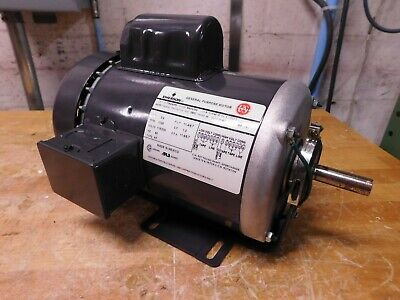 Emerson 34 Hp Single Phase Tefc Reversible Electric Motor T34ca2p9