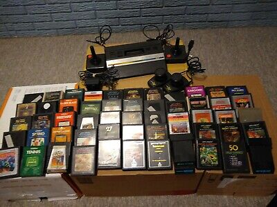 Atari 2600 With 55 Games Joysticks paddles Everything you need