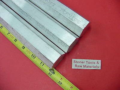 3 Pieces Hex 1-38 Aluminum 6061 Hex Bar 12 Long T6511 1.375 Solid Lathe Stock