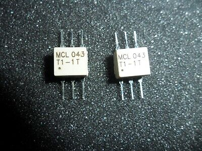 Tt1.5-1  Surface Mount Rf Transformer 50 Ohm 0.075 To 500 Mhz  Lot Of 2