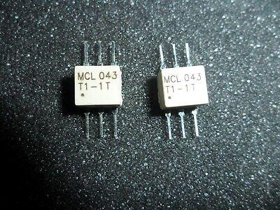 Tt1.5-1  Surface Mount Rf Transformer 50 Ohm 0.075 To 500 Mh Z Tube Of 25