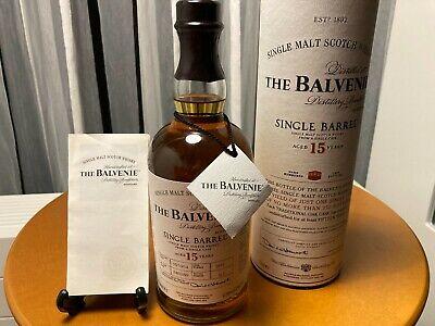 The BALVENIE 15 Years old 1999 Single Barrel cask 47,8 bottling 2014 700ml
