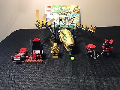 LEGO Ninjago The Golden Dragon (70503) 99.9% Complete w/ minifigs & instructions