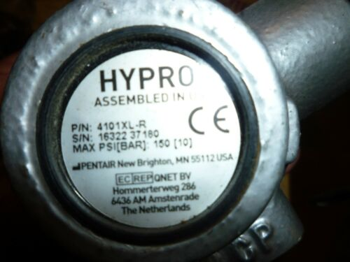 Hypro Roller Pump 150-PSI PTO-Driven Pump  Serial#: 16322-37 4101xl-r