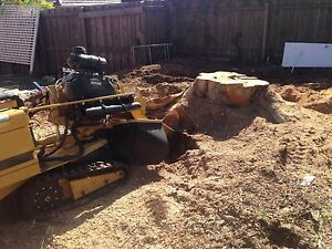 MARTYS STUMP GRINDING and narrow access specialist Fawkner Moreland Area Preview