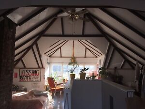 Perfect location, big loft room, for sublet, June July August