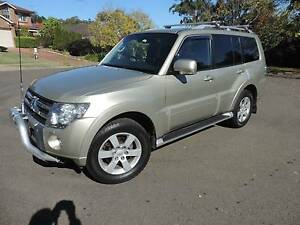 2010 VRX Spts Auto  Mitsubishi Pajero Wagon -3.2 DT -120,000Kms Castle Hill The Hills District Preview