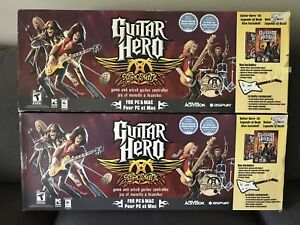 Aerosmith Guitar Hero Game & Guitar