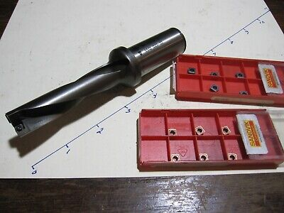 Sandvik Corodrill 18mm Indexable Coolant Drill 880-d1800l25-04 11 New Inserts