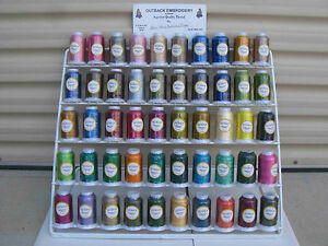 NEW 33 Madiera Rayon Colours Machine Embroidery Thread