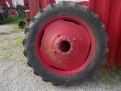 1 13.6 X 38 Tractor Armstrong Hi Power Lug Tire 85 Tread Ih 9 Bolt Press Rim