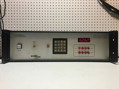 Noisecom Nc 7108 100 Hz - 500 Mhz  10 Mw Programmable Noise Generator