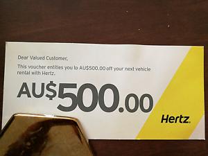 Herzt car rental voucher Labrador Gold Coast City Preview