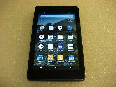 Amazon Kindle Fire HD 6 (4th Generation), 8GB, Wi-Fi, PW98VM - Black