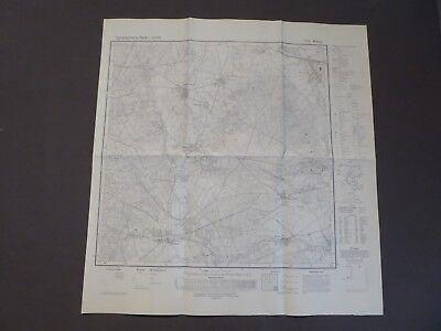 Meßtischblatt Topographische Karte 3129 Wieren, Nettelkamp, Nienwohlde, 1970