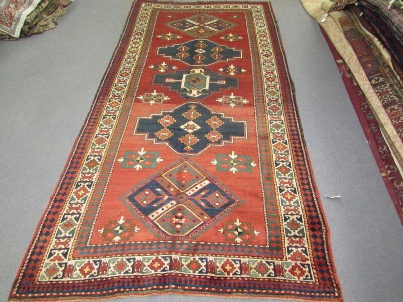Antique Kazak Gallery Rug 5