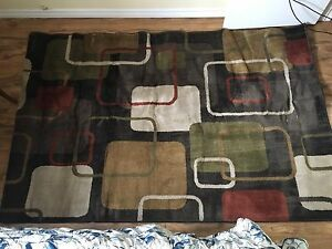 Area rug (7.5 feet long by 5 feet wide)