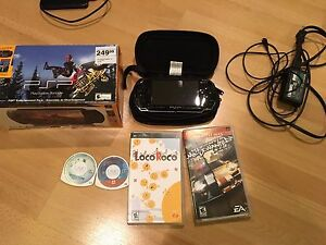 Sony PSP Entertainment Pack & Games