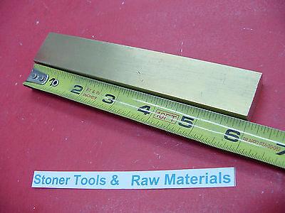 12 X 1 C360 Brass Flat Bar 6 Long Solid Mill Stock H02 .50x 1.00x 6