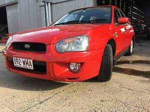 2005 Subaru Impreza Sedan Yeerongpilly Brisbane South West Preview