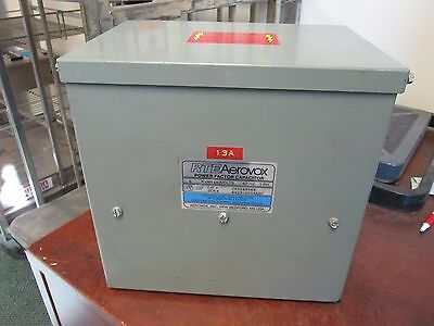 Rte Aerovox Power Factor Capacitor C85z4806e 6 Kvar 480v 60hz 3ph Used