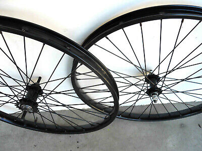 """MODERN VINTAGE FRONT REAR AXLE SPINDLE 5//16/"""" NON SPIN WHEEL NUTS CYCLE RALEIGH"""